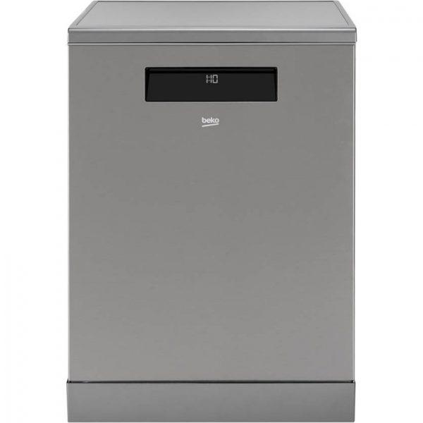 Máquina de Lavar Loiça BEKO AUTODOSE DEN38530XAD (15 Conjuntos - 59.8 cm - Inox)_8690842202421
