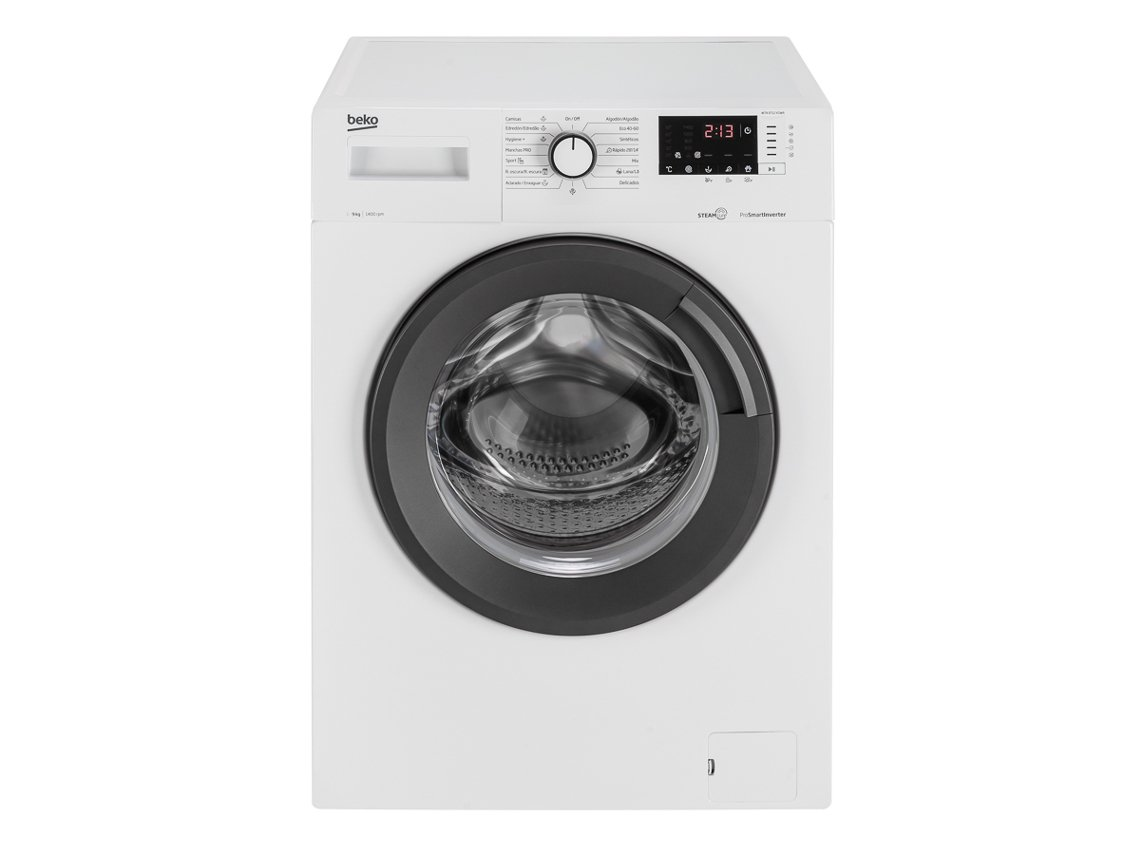 Máquina de Lavar Roupa BEKO WTA 9712 XSWR (9 kg - 1400 rpm - Branco)_8690842368868
