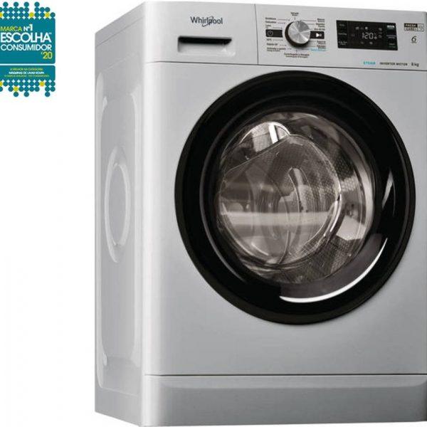 Máquina de Lavar Roupa WHIRLPOOL FFB 8248 SBV SP (8 kg - 1200 rpm - Inox)_8003437043918
