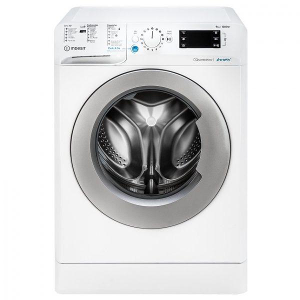 Máquina de Lavar Roupa INDESIT BWE 91284X WS SPT N (9 kg - 1200 rpm - Branco)_8050147619490