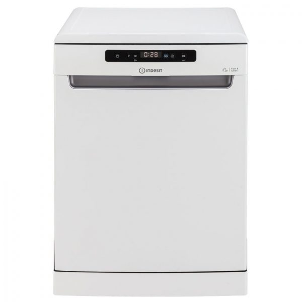 Máquina de Lavar Loiça INDESIT Push & Go DFO 3T133AF (14 Conjuntos - 59.5 cm - Branco)_8050147590553