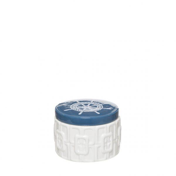 Caixa Decorativa em Cerâmica - Leme