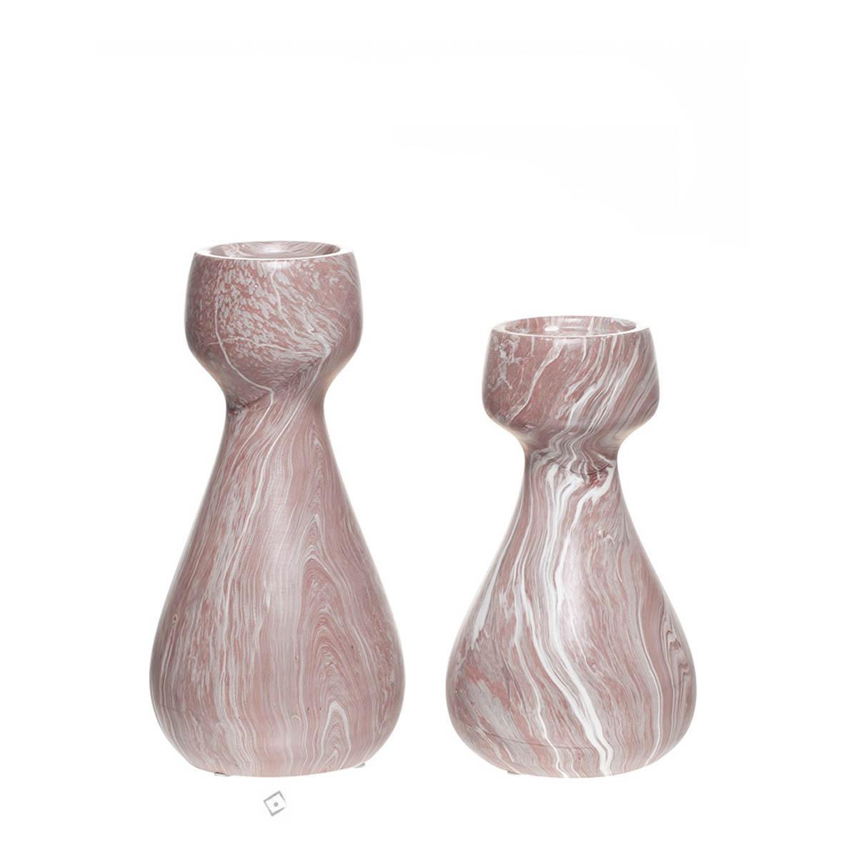 Castiçal Decorativo em Cerâmica GR
