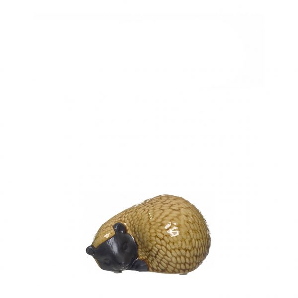 Figura Decorativa em Cerâmica - Ouriço