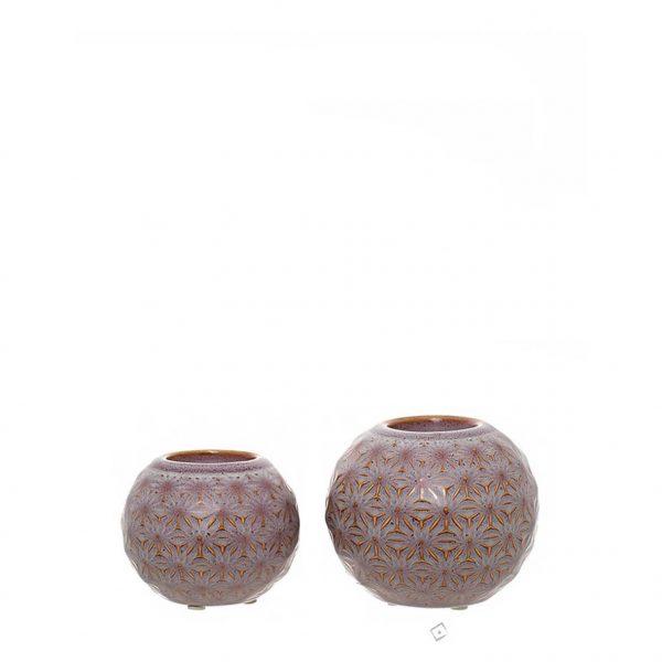 Castiçal Decorativo em Cerâmica
