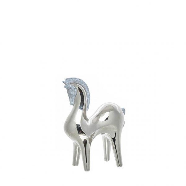 Figura Decorativa em Cerâmica - Cavalo