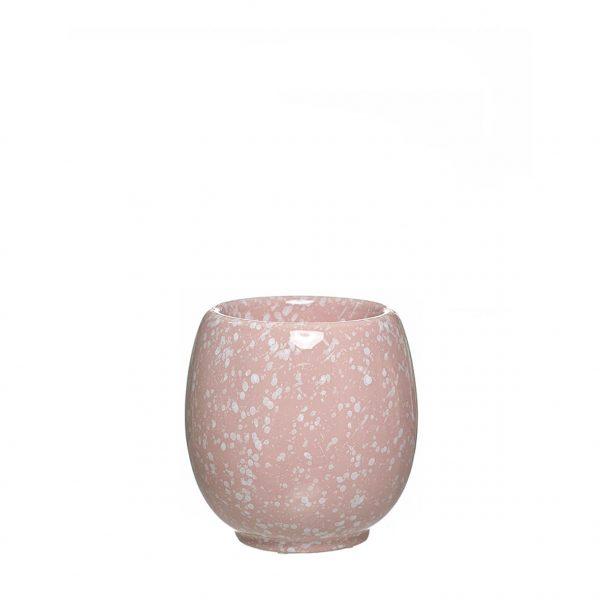 Vaso de cerâmica - Pink Marble