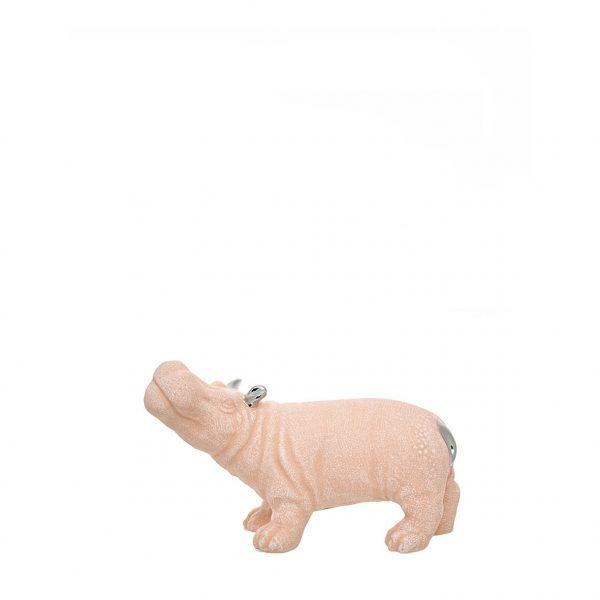 Hipopótamo de cerâmica